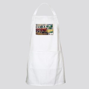 """Color of Money"" Hereford BBQ Apron"