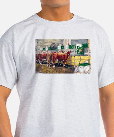 """Color of Money"" Hereford T-Shirt"