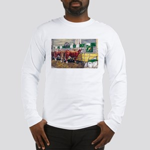"""Color of Money"" Hereford Long Sleeve T-Shirt"