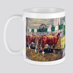 """Color of Money"" Hereford Mug"