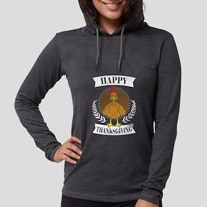 Happy Thanksgiving Turkey Holi Long Sleeve T-Shirt