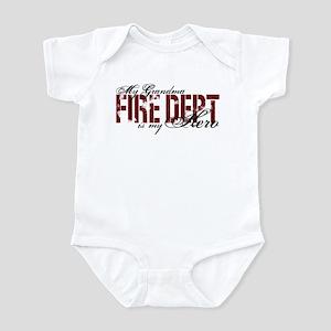 My Grandma My Hero - Fire Dept Infant Bodysuit