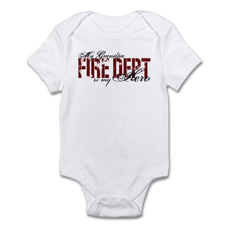 My Grandpa My Hero - Fire Dept Infant Bodysuit