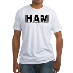 Hamburg Airport Code Germany HAM Shirt