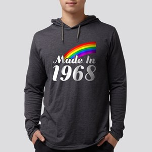 Made In 1968 Rainbow Long Sleeve T-Shirt