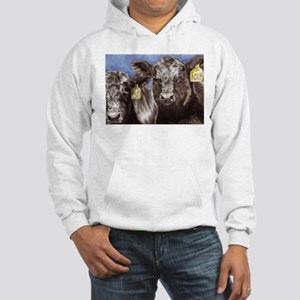 """Brothers,"" Angus Bull Calves Hooded Sweatshirt"