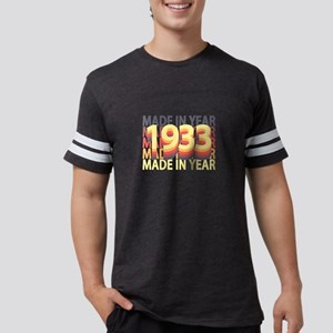 Born In Year 1933 Birthday Made In Gift T-Shirt