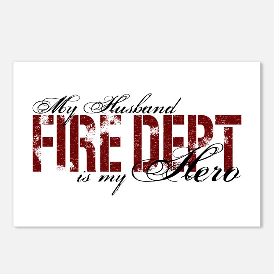 My Husband My Hero - Fire Dept Postcards (Package