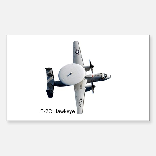 E-2 Hawkeye Rectangle Decal