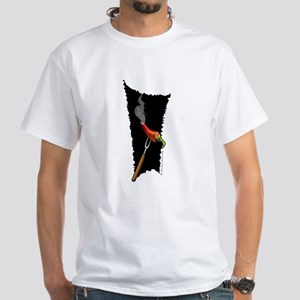 Smokin' Hot Chili Pepper White T-Shirt