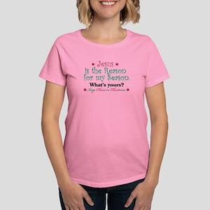Jesus Is My Reason Women's Dark T-Shirt