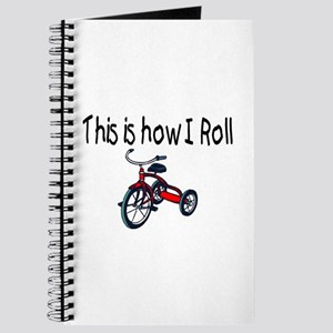 This Is How I Roll (Tricycle) Journal