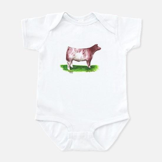 Shorthorn Steer Infant Bodysuit