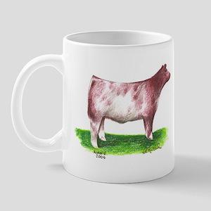 Shorthorn Steer Mug