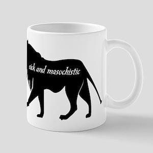 Edward Sick Masochistic Lion Mug