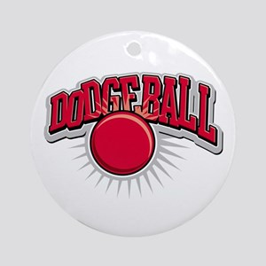 Dodge Ball Logo Ornament (Round)