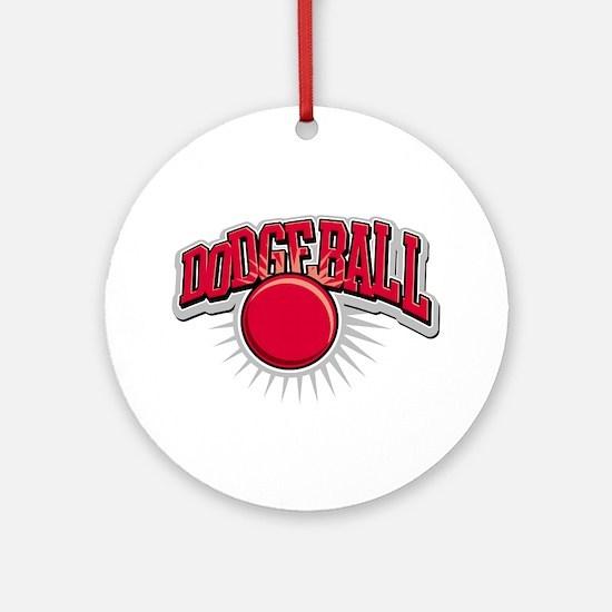 Dodge Ball Logo Ornament (Round)
