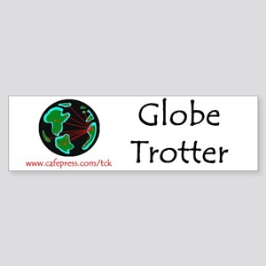 Globe Trotter Bumper Sticker