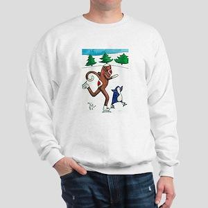 2008 Christmas Sock Monkey an Sweatshirt