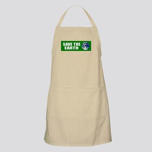 Save the Earth BBQ Apron