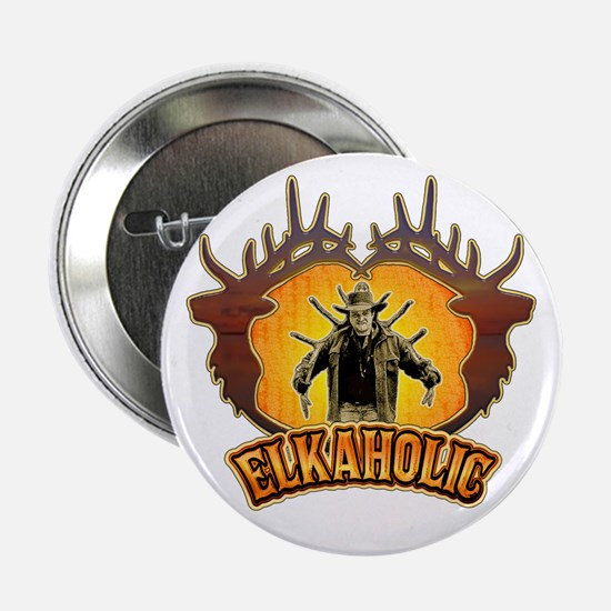 """elkaholic the pack out 2.25"""" Button"""