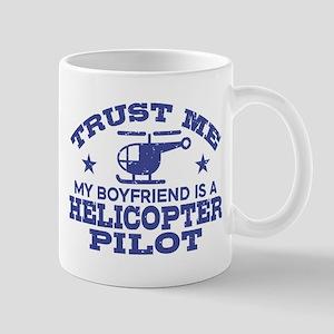 Boyfriend Is A Helicopter Pilot Mug