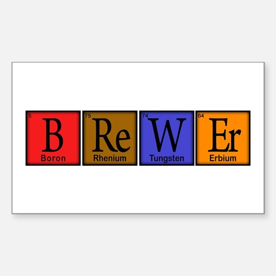 Brewer Compound Rectangle Decal