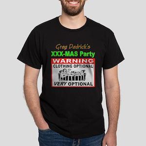 Greg's XXX-Mas Hot Tub Dark T-Shirt