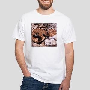 Desert Rattlesnake White T-Shirt