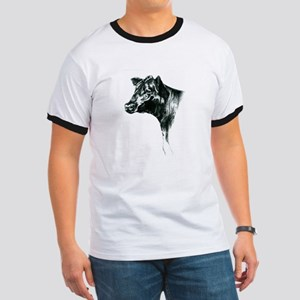 Angus Cow Ringer T