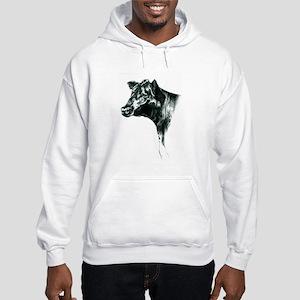 Angus Cow Hooded Sweatshirt