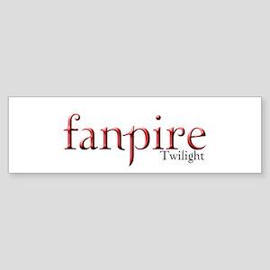 Twilight Fanpire Bumper Sticker