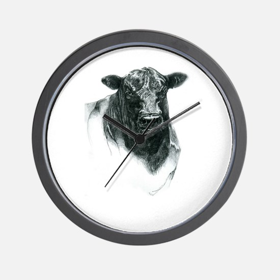 Angus Bull Wall Clock