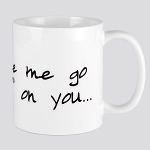 Twilight Don't Make Me Go Volturi Mug
