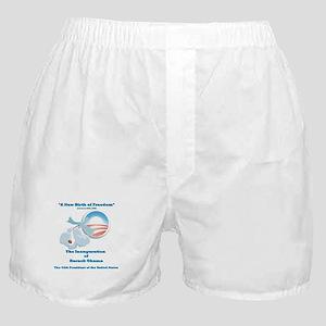 New Birth of Freedom Stork & Baby Boxer Shorts