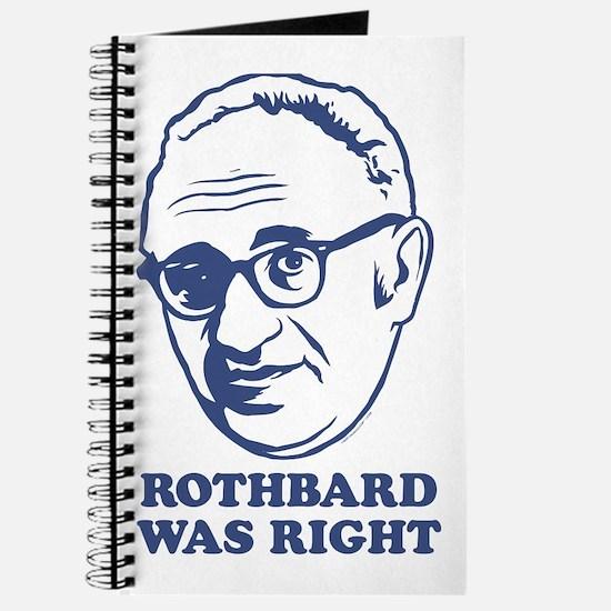 Rothbard Was Right Journal