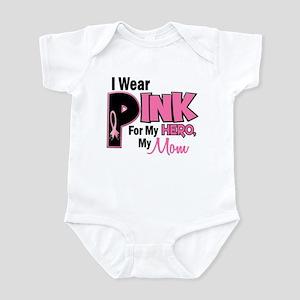 I Wear Pink For My Mom 19 Infant Bodysuit