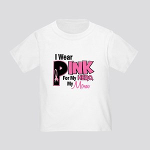 I Wear Pink For My Mom 19 Toddler T-Shirt