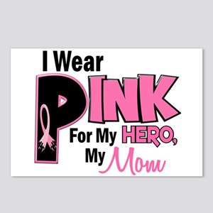 I Wear Pink For My Mom 19 Postcards (Package of 8)