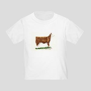 Hereford Heifer Toddler T-Shirt