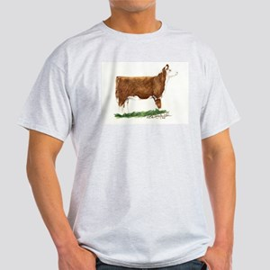 Hereford Heifer Light T-Shirt