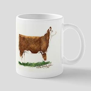 Hereford Heifer Mug