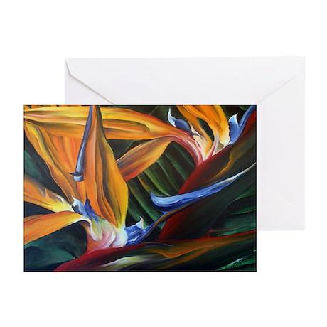 Bird of Paradise Greeting Cards (Pk of 20)