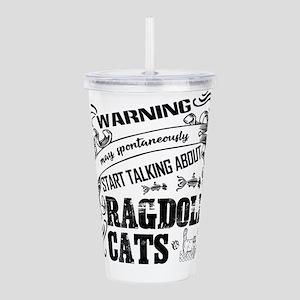 Ragdoll Cat Acrylic Double-wall Tumbler