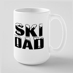 Ski Dad Large Mug