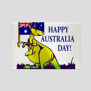 Australia Day Rectangle Magnet