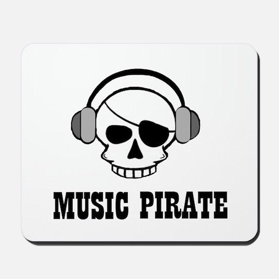 music pirate Mousepad