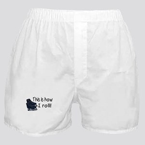 This Is How I Roll (Ice Skates) Boxer Shorts