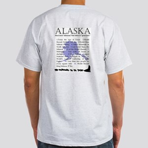 Alaska Gifts Ash Grey T-Shirt