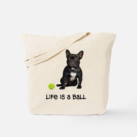 French Bulldog Life Tote Bag